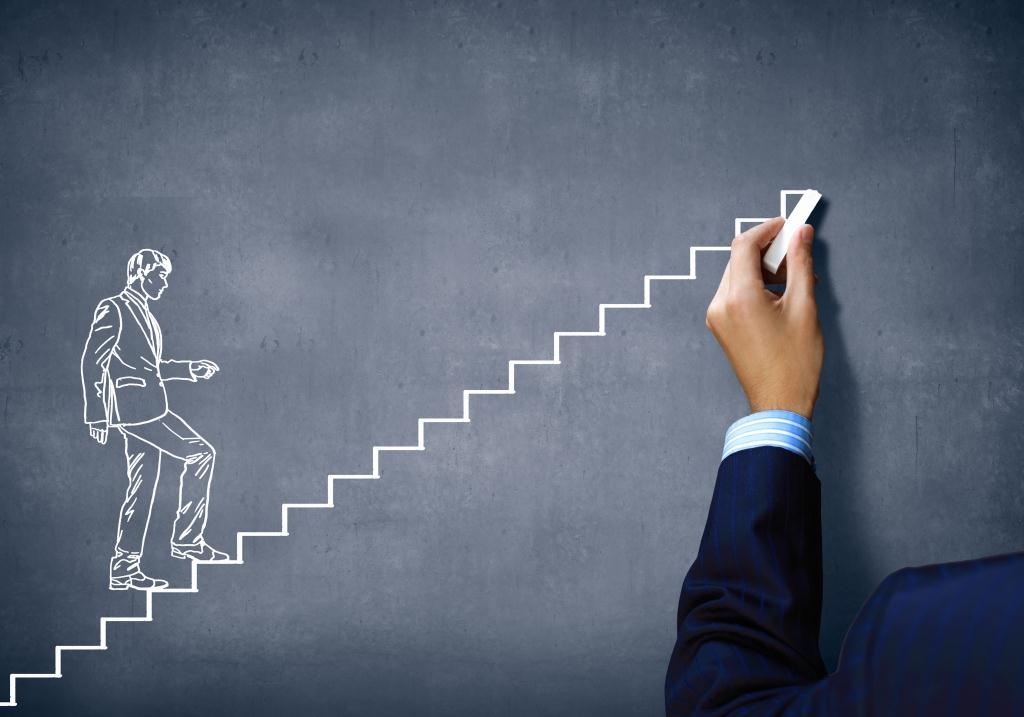 ladder to Success in business